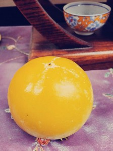 長塚さんの柿